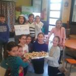 Toutes les classes ont préparé des gâteaux à Pourim