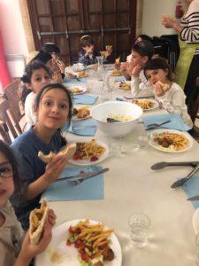 Le repas de Yom Haatmaout Cp/Ce1